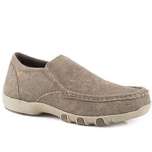 - ROPER Women's Johnnie Slip-On Shoes Brown 10 M
