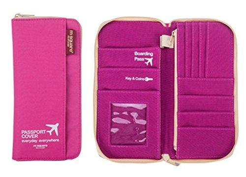 M Square Travel passport wallet holder