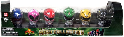 Power Rangers Exclusive 20th Anniversary Mighty Morphin Legacy Mask Collection (Mighty Morphin Power Ranger Helmet)