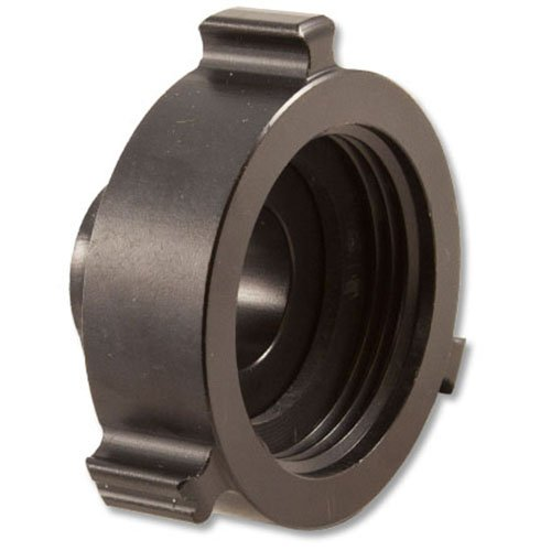 Aluminum 2 1/2'' Female NH to 1 1/2'' Male NH Fire Hose Adapter