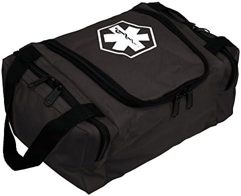 Dixie EMS Dixigear Empty First Responder II Bag – Tactical Black