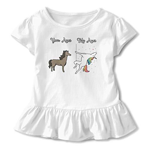 NMDJC CCQ Happy Christmas Tree Baby Skirts Cute Kids T Shirt Dress Soft Flounces Outfits