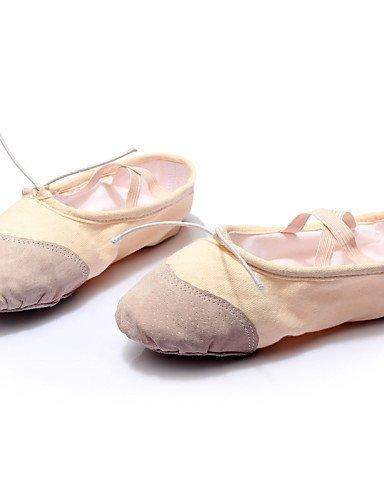 ShangYi Anpassbar - Flach - Leinen - Ballett - Damen Red