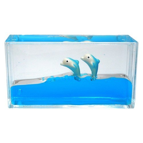 Liquid Dolphin Paperweight - Mini