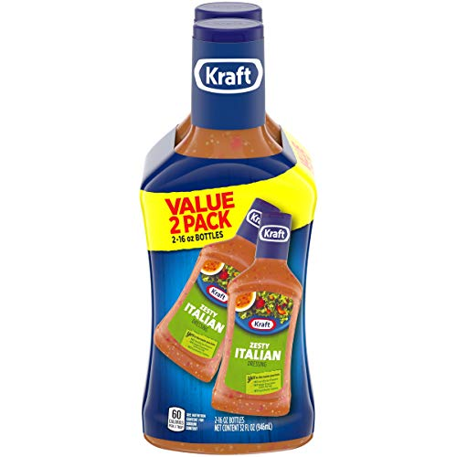 Kraft Dressing Zesty Italian Twinpack, 32 fl oz (Pack of 2)