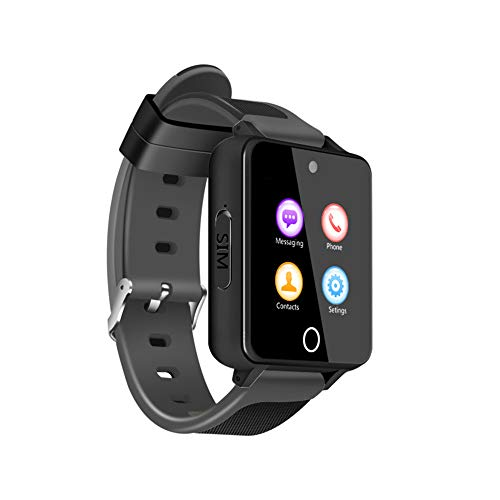 Cywulin Smart Watch Touchscreen Multi-Function Bluetooth Smart Wrist Bracelet Waterproof Android Quad Core 5.1 3G LTE, SIM Card Slot, Camera, GPS, WiFi, for iOS Android Phone Men Women (1G+16G, C) ()
