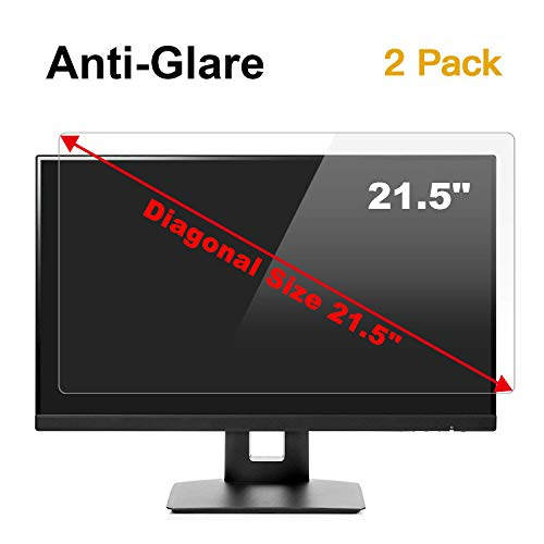 [2 Pack] 21.5 inch Anti Glare (Matte) Screen Protector Compatible for 21.5