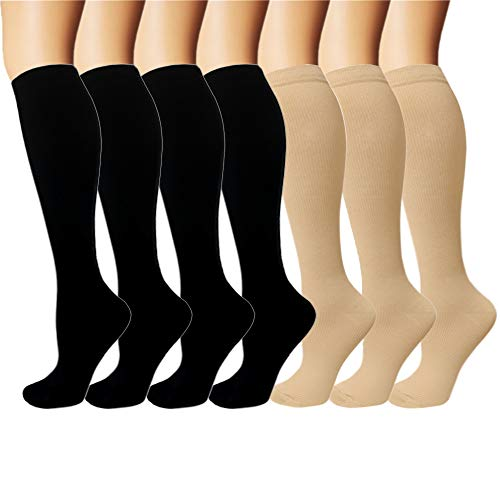 Iseasoo 7 Pack Copper Knee High ...