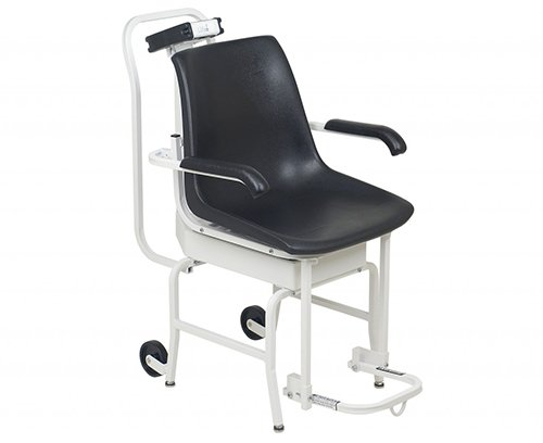 [Digital Chair Scale with Lift Away Arms and Footrests Capacity: 400 lb x 0.2 lb / 180 kg x 0.1 kg] (Detecto Digital Chair Scale)
