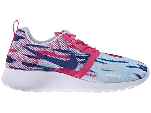 Nike Roshe One Flight (GS) (705486-401) Azzuro-Rosa