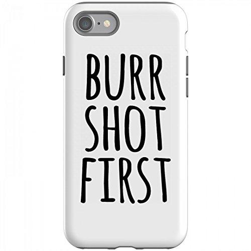 Aaron Burr Shot First Phone Case  Rubber Iphone 6 Case Black