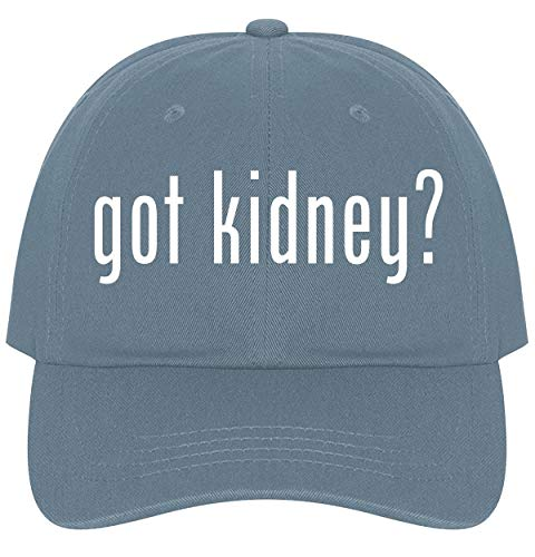 The Town Butler got Kidney? - A Nice Comfortable Adjustable Dad Hat Cap, Light Blue