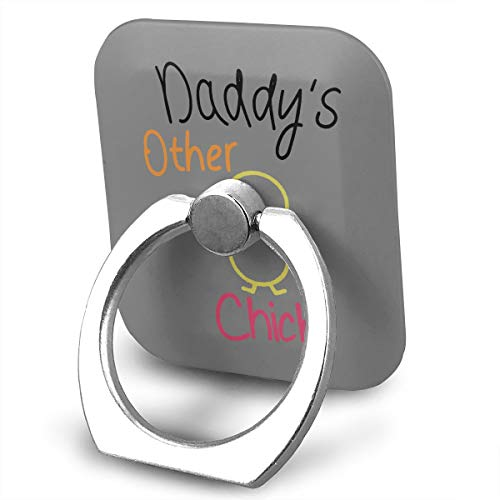Happy Index Daddys Other Chick 360° Rotation Cell Phone Ring Holder Cellphone Finger Stand for iPhone, IPad, Samsung Galaxy S9/S8 and More Smartphones