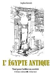L'Égypte antique - Tout pour briller en société