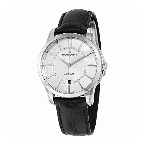 Maurice Lacroix Men's PT6148-SS001-130 Pontos Analog Display Swiss Automatic Black Watch