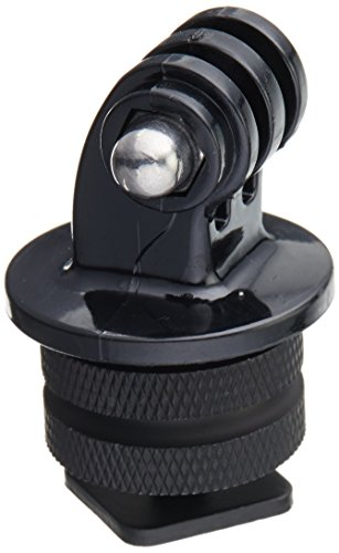 Foray M-CG Tripod Screw to SLR Camera Flash Shoe Mount Adapter for GoPro Hero Camera (Black)