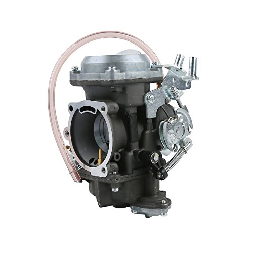 XFMT Aluminum Twin Cam Carburetor Carb Compatible with Harley Dyna Wide Super Glide FXD Low Rider ()