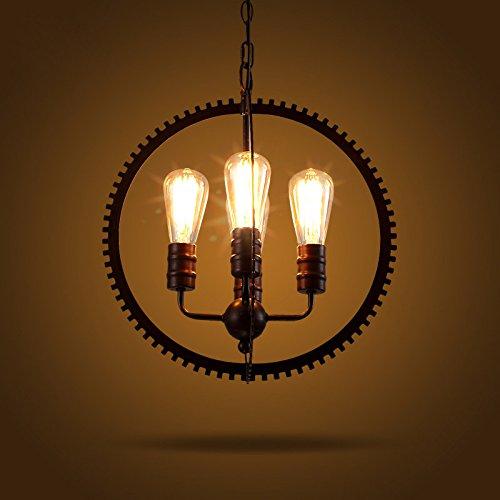 Lovedima-Industrial-Loft-4-Lights-Retro-Metal-Gear-Hanging-Sphere-Pendant-Light