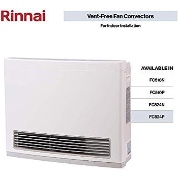 Amazon Com Rinnai Fc824p Vent Free Propane Gas Heater