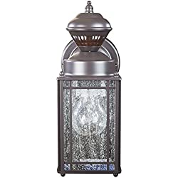 Heath/Zenith HZ-4133-OR Shaker Cove Mission-Style 150-Degree Motion-Sensing Decorative Security Light, Oil-Rubbed Bronze