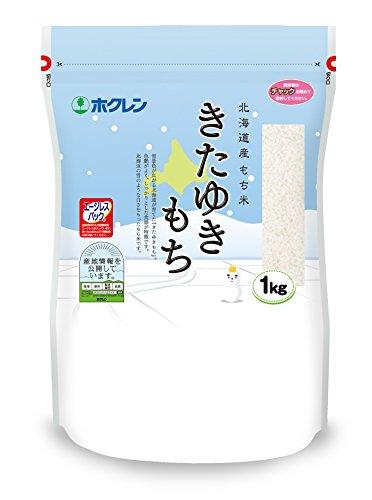 The Hokuren Hokkaido came was Yukimochi rice 1kg 2014 annual production by Hokuren