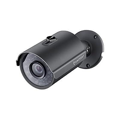 Amcrest ProHD Outdoor 3 Megapixel POE Bullet IP Security Camera - IP67 Weatherproof, 3MP (2048 TVL), IP3M-954E (Black) (Certified Refurbished) from Amcrest