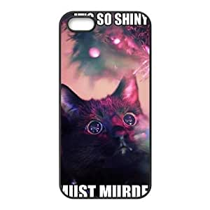 Cat DIY Cover Case for iPhone 5,5S LMc-87166 at LaiMc