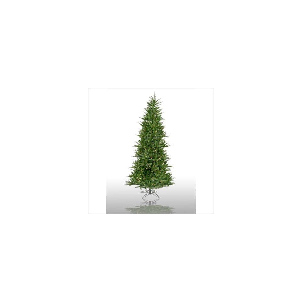 Prelit Slim Tiffany Spruce Artificial Christmas Tree