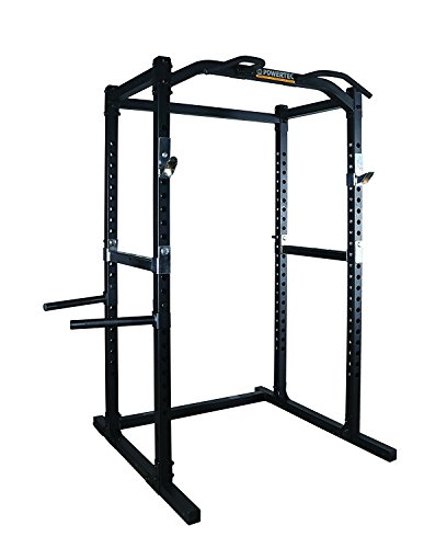 (Power Rack Fitness Home Stand Exercise Squat Muscle Workout Strength Training)