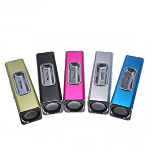 USB TF SD Card FM Radio Music Player For iPhone 4 4S iPod Touch --- Color:Black