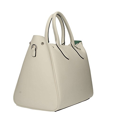 Trussardi Jeans Blondie Borsa Tote Donna 40x43x23 Cm Bianco