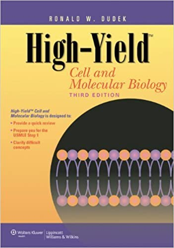 Book High-Yield? Cell and Molecular Biology (High-Yield Series) by Dudek PhD, Dr. Ronald W. (2010)