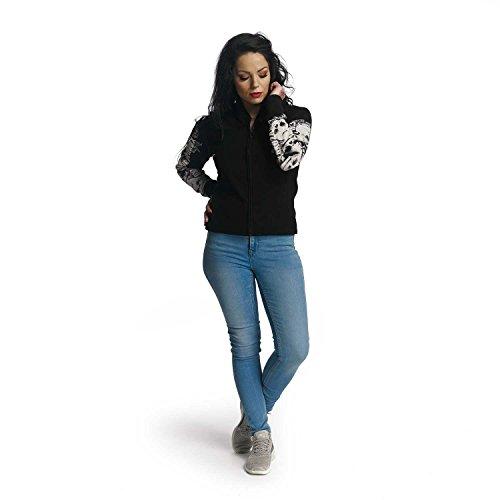 Nero Jacket Giacche Giacca Yakuza Teddy Invernale Skull Donna x01vwAq7