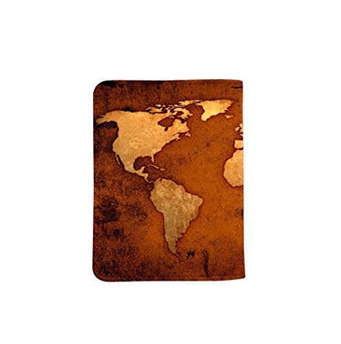 Adventures Old Map Name Customized Cute Leather Passport Holder - Passport Covers_SUPERTRAMPshop by SUPERTRAMPshop (Image #3)