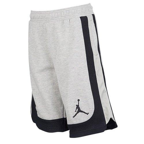 a3918e5918e314 Galleon - Nike Boys Air Jordan Varsity Fleece Shorts Grey Black 952812 042  (m)