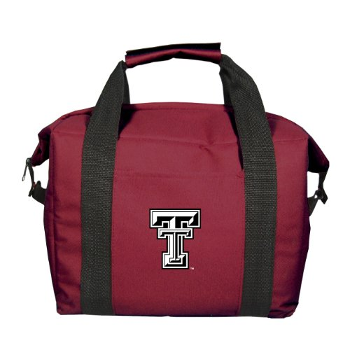 NCAA Texas Tech Red Raiders Soft Sided 12-Pack Cooler (Ncaa 12 Pack Cooler)