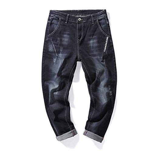 Pants Pants Jeans Fashion Pants Stretch Retro Straight Negro Spring Loose R Men Jeans Denim Men Slim Pants Casual Fit qRxFpPq8