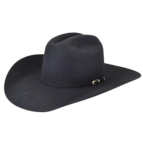 Bailey Men's Pro 5X Wool Felt Cowboy Hat Black 7 5/8 ()