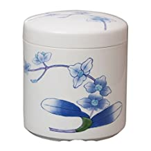 Eternal pot porcelain Kazan kiln 7 cun your urn (KiribakoIri) Phalaenopsis picture K7-4
