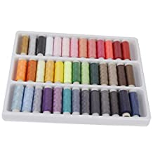 LyonsBlue 39 Assorted Color 200 Yards Per Unit Polyester Sewing Thread Spool Set by LyonsBlue