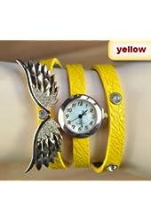 2014 new style fashion ladies watches wing rhinestone gold plated bracelet JEW SJA0846535262CO TYPE 8