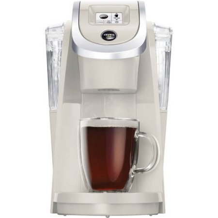 Keurig K200 Touch Screen Revolutionary Keurig Brewing Technology K-Cup K-Mug K-Carafe Pod Brewer Strength Control Setting (Sandy (Pearl Espresso Maker)