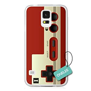 Onelee(TM) - Old School NES Nintendo Controller Samsung Galaxy S5 Case & Cover - Transparent 3