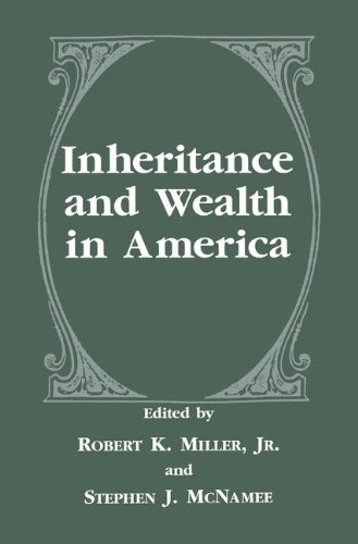 Inheritance and Wealth in America (The Language of Science) by Springer