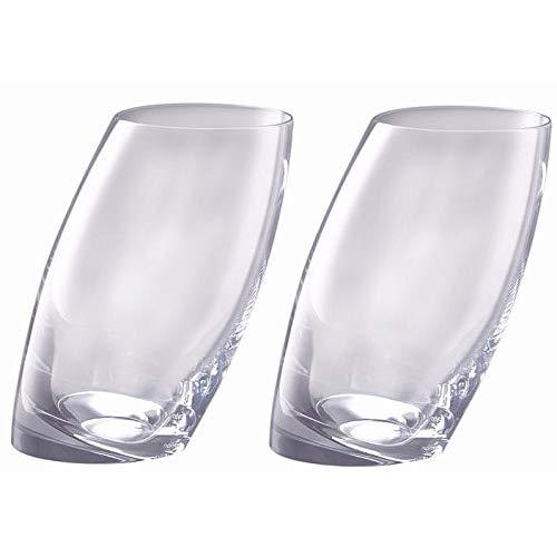 The Original TILT HIGHBALL GLASSES by Nambe