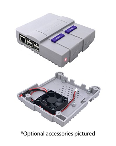 Super-Tinytendo-Case-for-Raspberry-Pi-3-2-Model-B-with-Large-Cooling-Fan