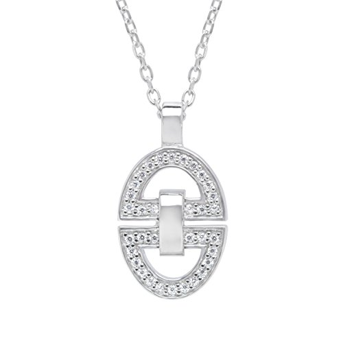 guy-laroche-horsebit-pendant-necklace-with-cubic-zirconia-in-sterling-silver