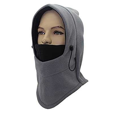 Outdoor Sports Full Face Mask Winter Wind-Resistant Fleece Balaclava Skull