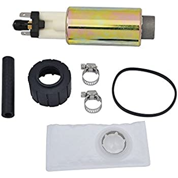 Custom New Electric Fuel Pump /& Install Kit Fit Ford Lincoln Mazda Mercury E2001