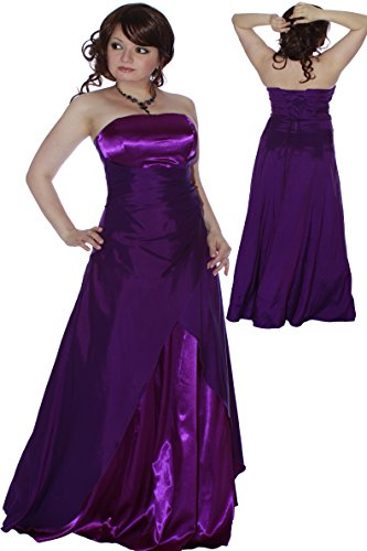 Farbe Lila Gr Empire und 34 697111993163 e Damen Abendkleid Christine Juju U1qw0YU